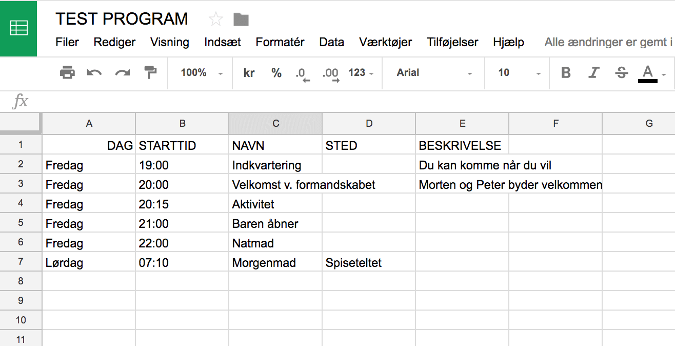 Use Google Sheet as your JSON-backend